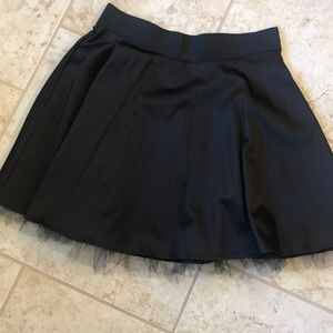 Beautiful satin skirt with Tulle on bottom